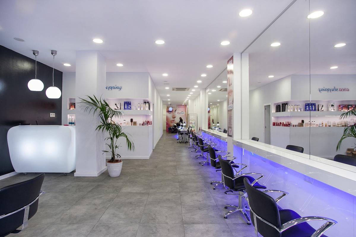 vista general interior salon